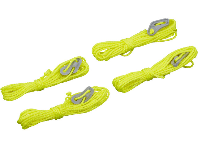 CAMPZ Tent Cord 4m/2,5mm Gul